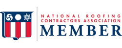 NRCA Member Logo | Tallent Roofing is a member of the National Roofing Contractors Association