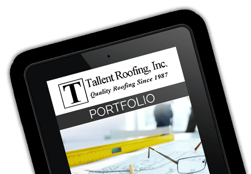 Roofing portfolio. Tallent Roofing has completed more than 20,000 roofing jobs and is recognized as one of the best roofing contractor companies in Texas.
